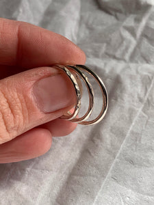 Everyday  stacker ring