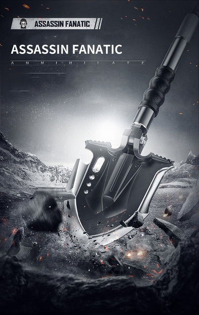Multifunctional Tactical Shovel Annihilate F3 Assassin Fanatic