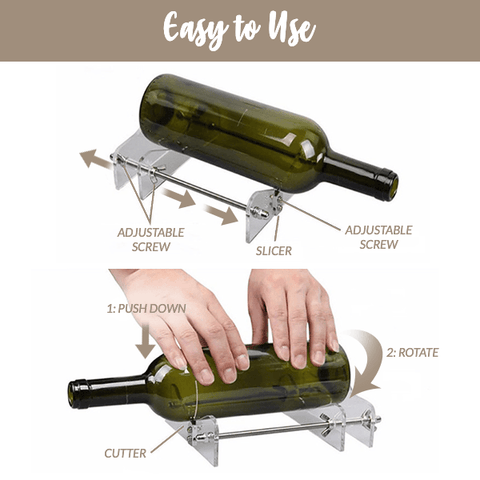 Image of Glass Bottle Cutter DIY Tool