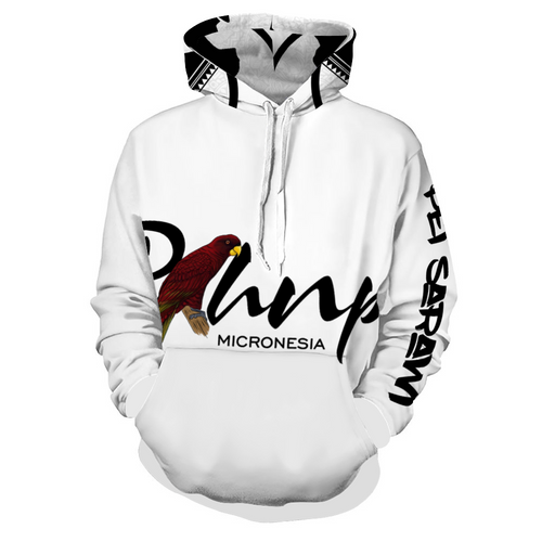 Serehd Customizable Hoodie Hooded All Over Print Sweatshirt with Pockets
