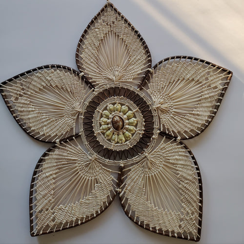 Pohnpei Lotus Wall Art