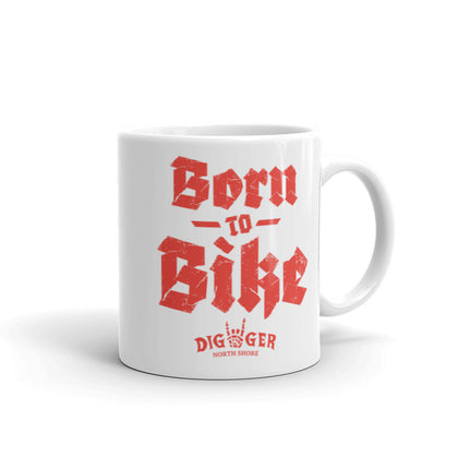 Born to Bike. Live to Build Coffee Mug