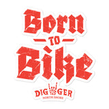 Born to Bike Sticker