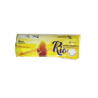 Rio Sanitery Napkins Soft Cottony 7 Pieces / റിയോ പാഡ്സ് 7 Piece