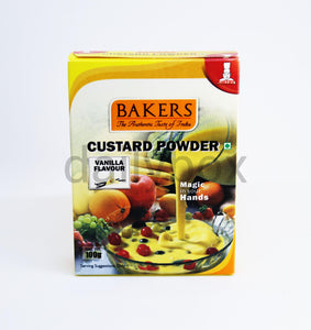 Bakers Custard Powder Vanilla Flavour 100g / കസ്റ്റഡ് പൗഡർ