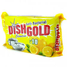 Load image into Gallery viewer, Dish Gold Lemon Dishwash Bar / ഡിഷ്‌വാഷ് ബാർ