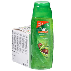 Fiama Shower Gel 100ml / ഫിയാമ ഷവർ ജെൽ Lemongrass & Jojoba