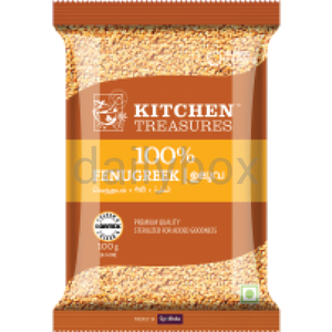 Kitchen Treasures Fenugreek 100g / KT ഉലുവ