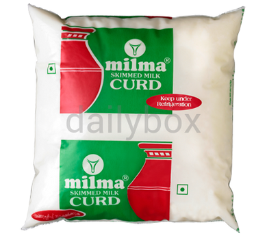 Milma Skimmed Milk Curd 500ml / തൈര്