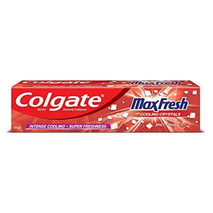 Colgate Maxfresh Cooling Crystal Toothpaste 150g / കോൾഗേറ്റ് ടൂത്ത്പേസ്റ്റ് Spicy Fresh RED