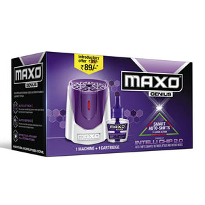 Maxo Genius Combo 1 Machine + 1 Cartridge / മാക്‌സോ