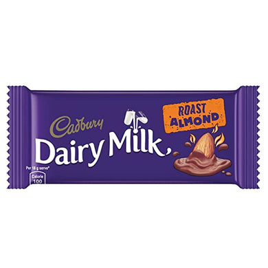 Cadbury Dairy Milk Roast Almond 36g / ഡയറി മിൽക്ക് Roast Almond