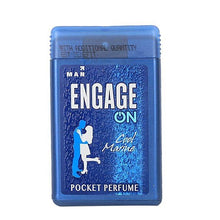 Load image into Gallery viewer, Engage On Men / Women Pocket Perfume 18ml / പോക്കറ്റ് സ്പ്രൈ