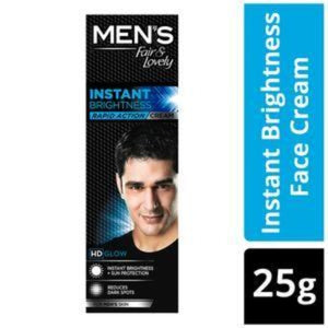 Fair & Lovely MEN's Instant Brightness Cream 25g / ഫെയർ & ലൗവ്‌ലി മെൻ