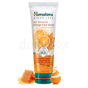 Himalaya Face Wash 100ml / ഫെയ്‌സ് വാഷ് Tan Removal Orange
