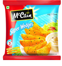 Load image into Gallery viewer, Mccain Super wedges ( veg ) 400g / സൂപ്പർ വെഡ്ജ്സ്