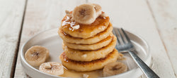 Banana, Ricotta and Honey Pancakes