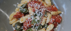 Gnocchi Sardi with Roast Tomato Sauce