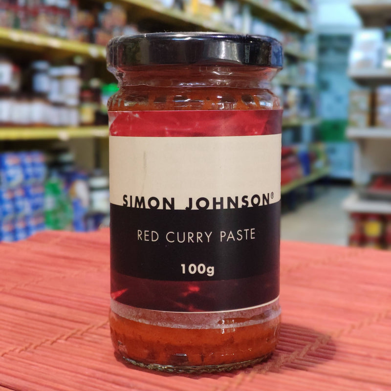 SIMON JOHNSON Red Curry Paste 100g