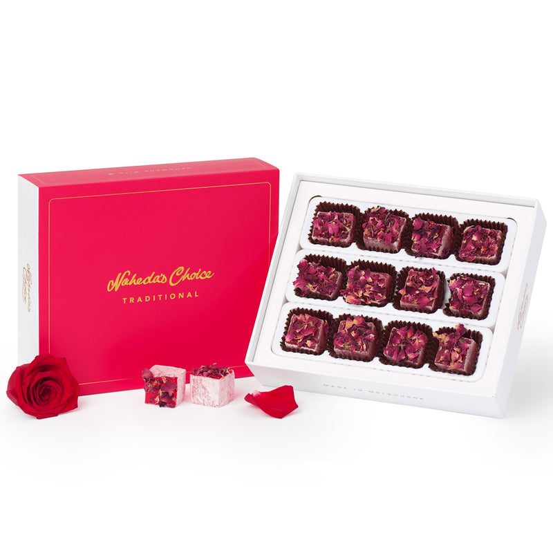 Rose and Rose Petals Turkish Delights