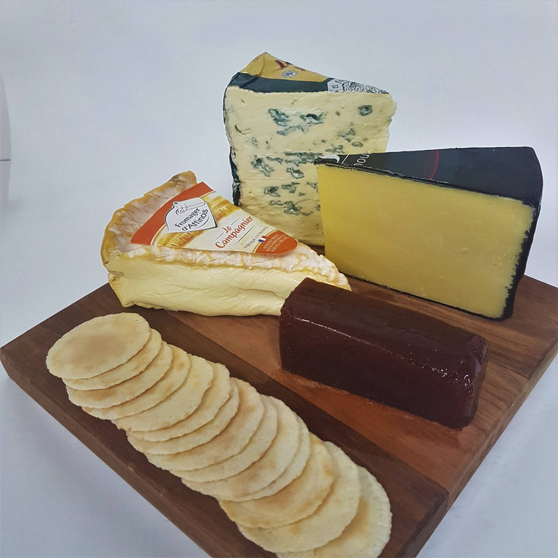 Say Cheese: Great Britain and French Cheese Pack