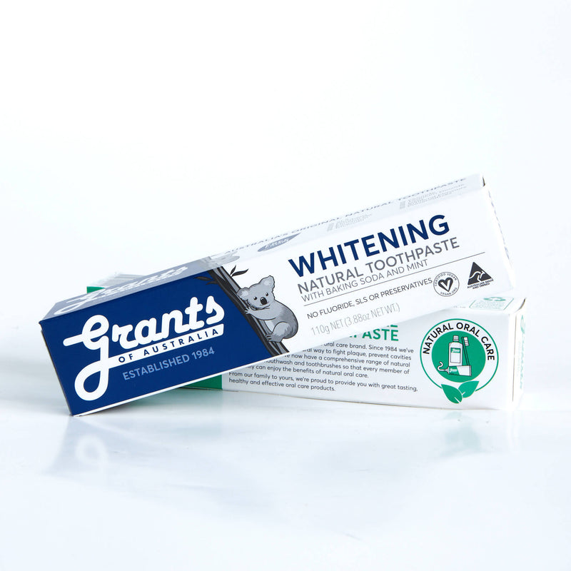 Grants Natural Toothpaste Whitening 110g