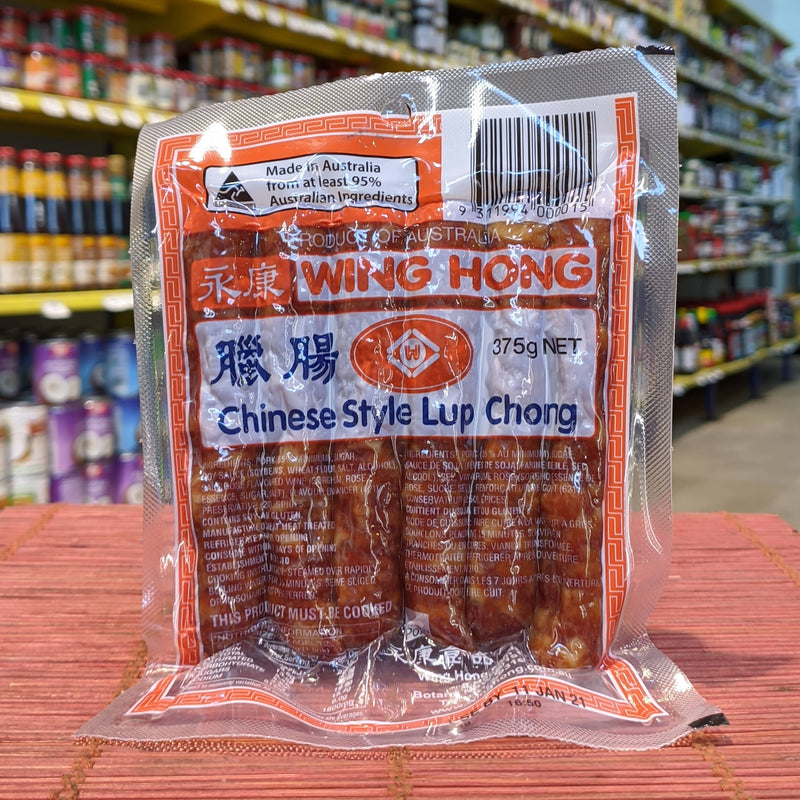 WING HONG Chinese Sausage 375g