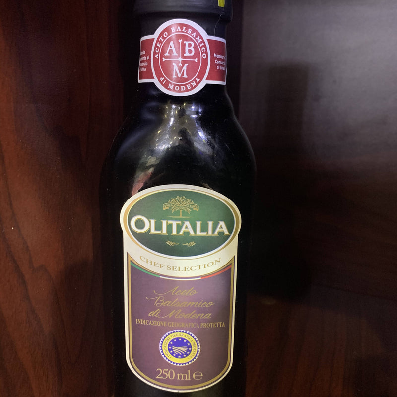 Olitalia Italian balsamic vinegar 250ml