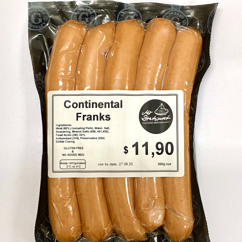 Continental Franks 300g pack