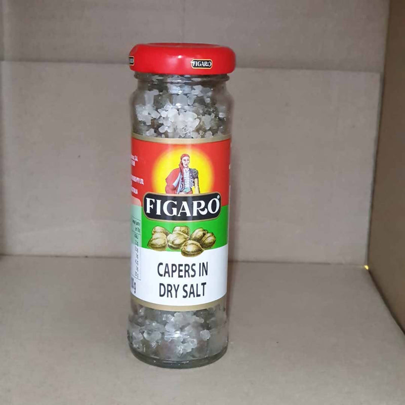 2x Figaro Capers in Dry Salt - 100g