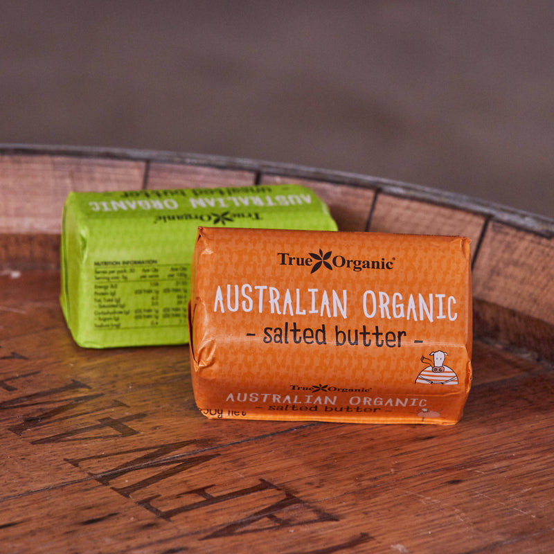 True Organic Butter Salted 250g