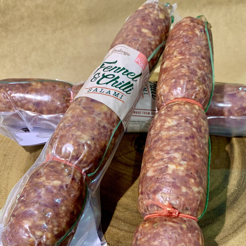 Fennel and Chilli Salami 400g