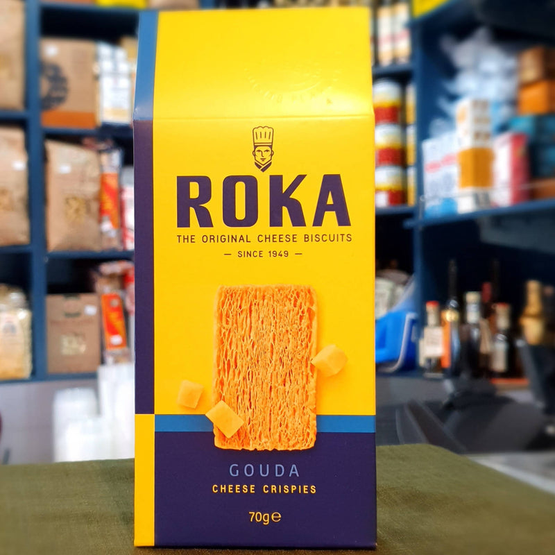 Roka Cheese Crispies Biscuits