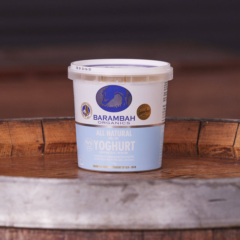 Barambah All-Natural Organic Yoghurt 1kg