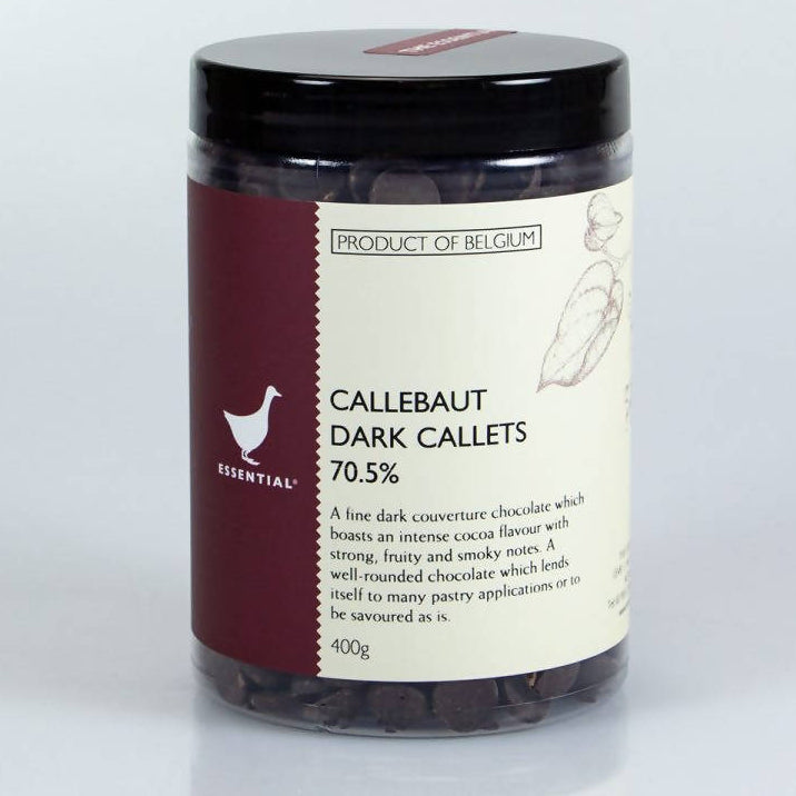 Callebaut Couverture Chocolate Callets 400gm