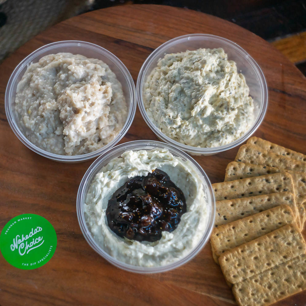 Say Cheese: Trio of Cheese Dips