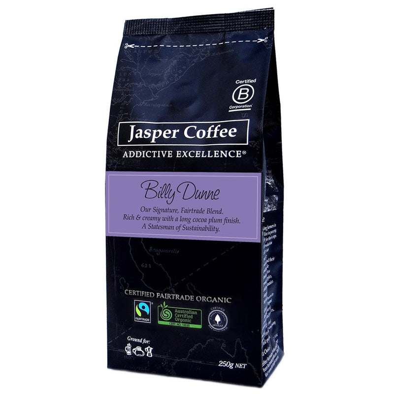 Billy Dunne Coffee Blend - Ground (250g)