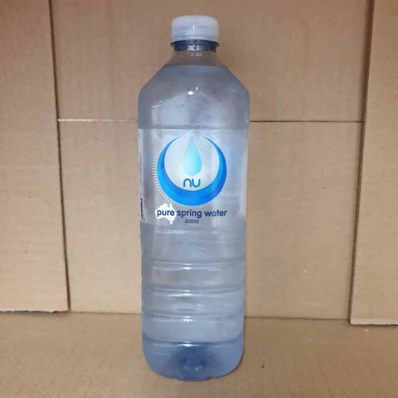 Nu Pure Spring Water - 600mL