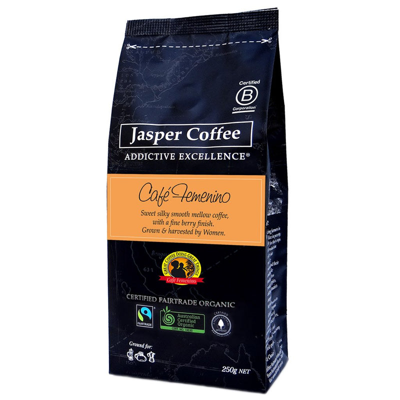 Cafe Femenino Coffee - Ground (250g)