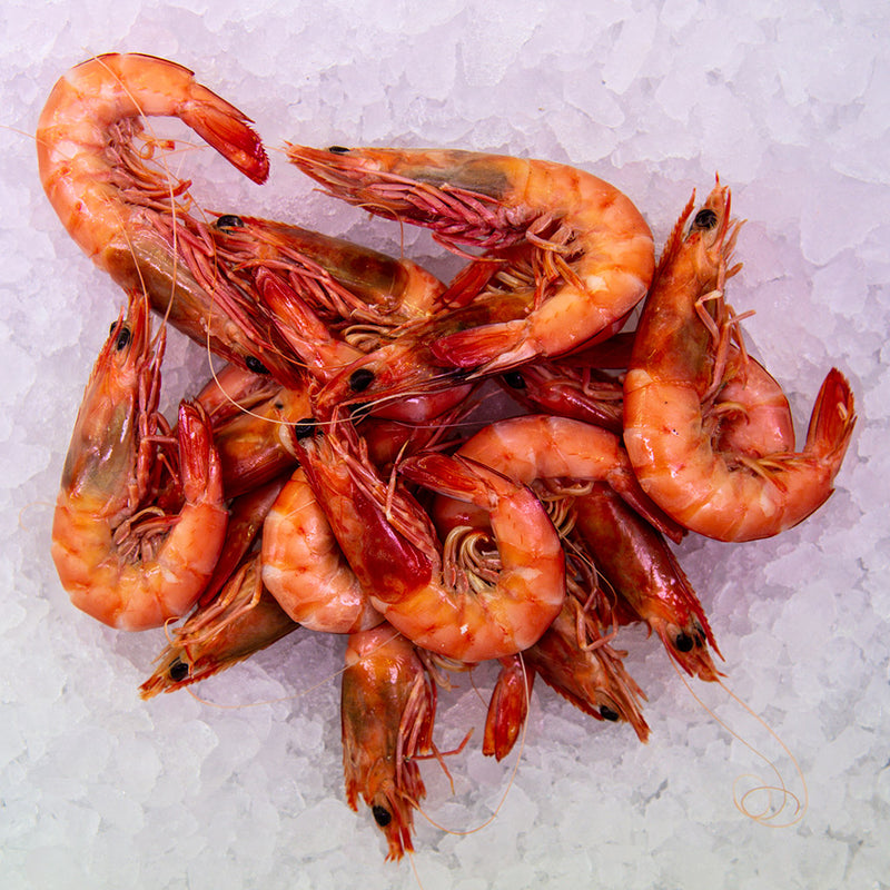 Cooked Prawns with Shell ($39.90 p/kg)