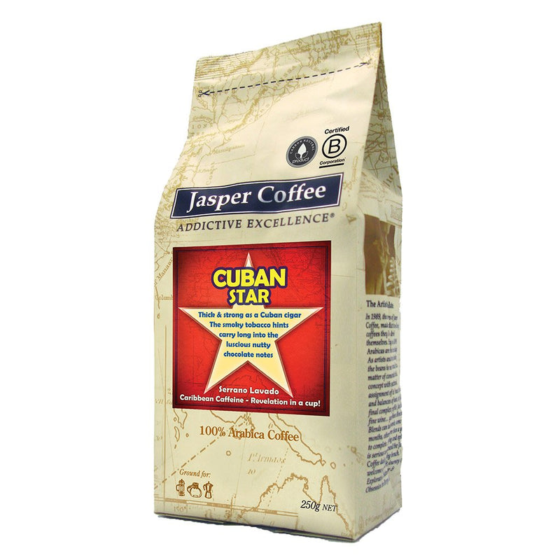 Cuban Star Coffee - Ground (250g)