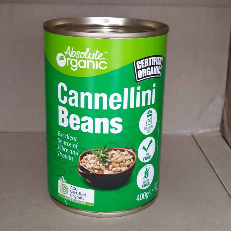 Absolute Organic Cannellini Beans - 400g