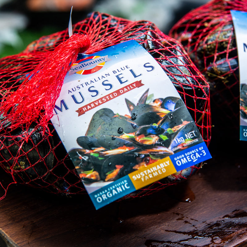 Local Mussels (1kg)