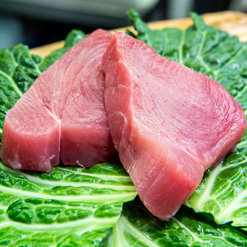 Fresh Yellow Fin Tuna ($54.90 p/kg)