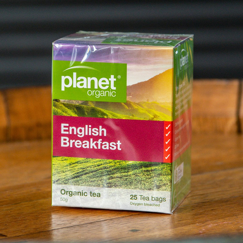 Planet Organic English Breakfast Tea (25 Bags)