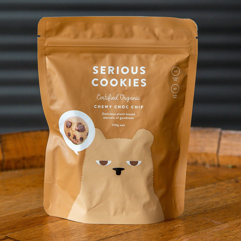 Serious Cookies - Chewy Choc Chip (170g)