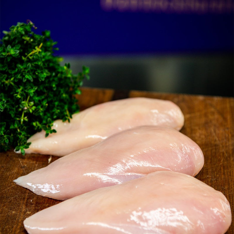 Skinless Chicken Breast Fillets ($18.95 p/kg)
