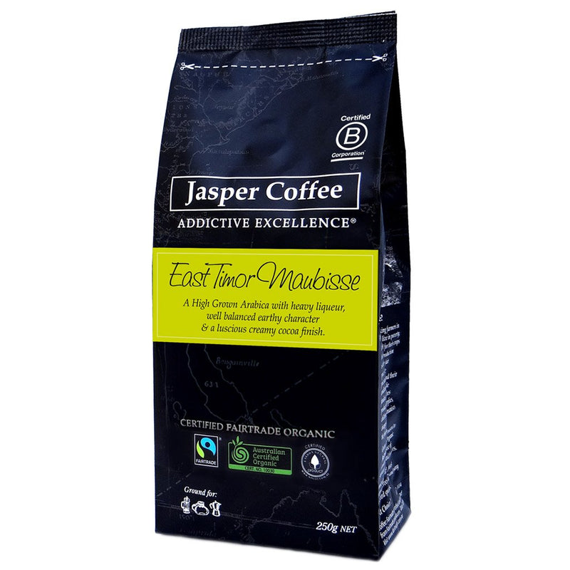 East Timor Maubusse Coffee- Ground (250g)