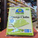 IF YOU CARE Compostable Sponge Cloths x5