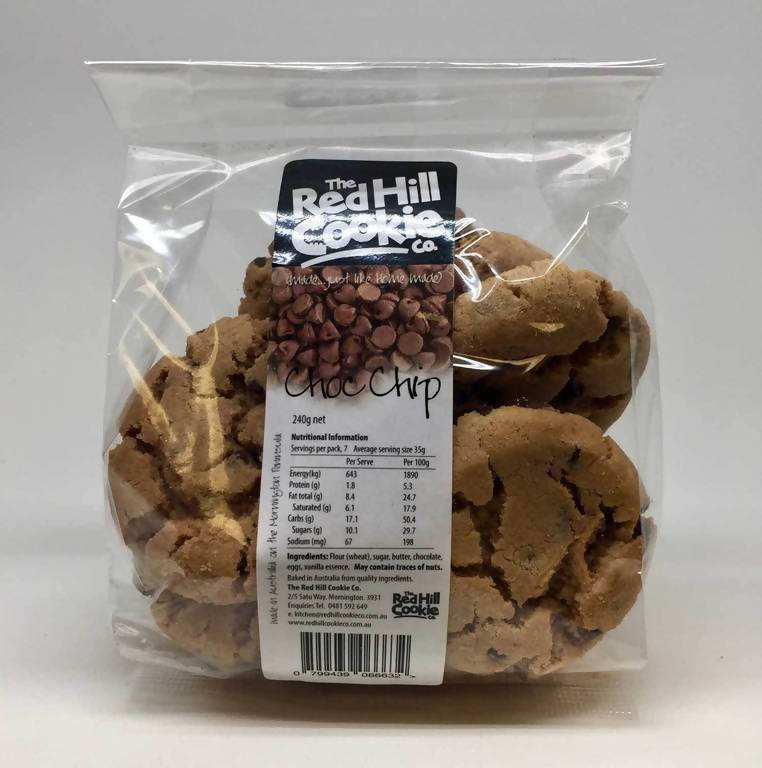 The Red Hill Cookie Co. Cookies